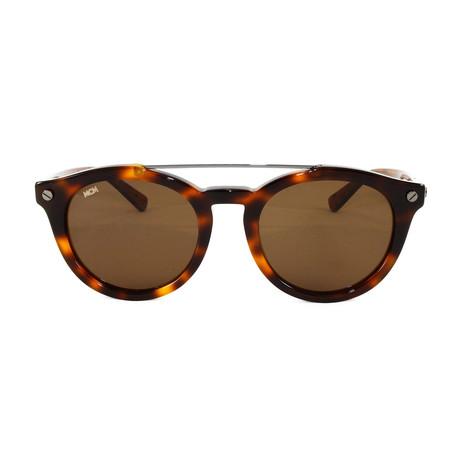 MCM668S Sunglasses // Havana Burnt Visetos