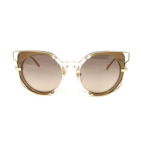 MCM665S Sunglasses // Nude