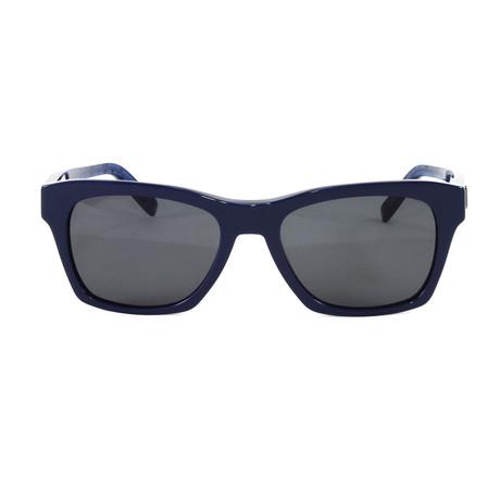 MCM663S Sunglasses // Blue Visetos