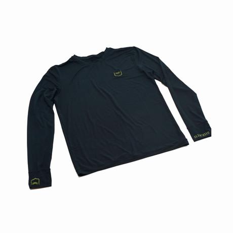 Sheath Base Layer Long Sleeve // Black (Small)