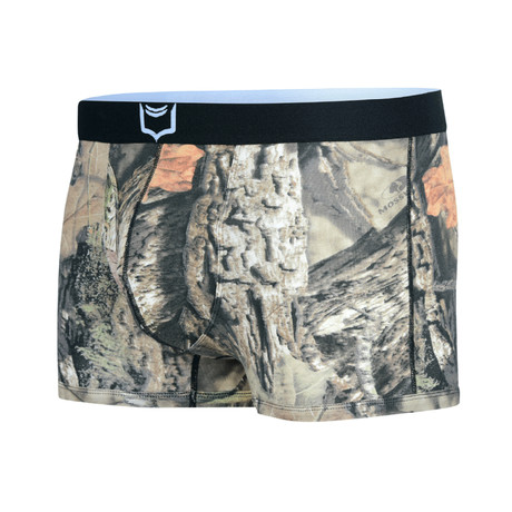 Sheath 2.1 Dual Pouch Trunks // Mossy Oak (Small)