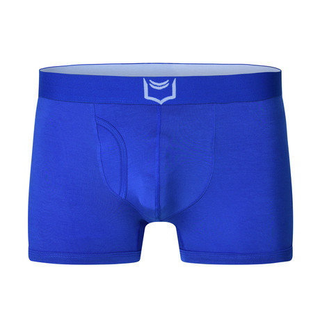 Sheath 2.1 Dual Pouch Trunks // Blue (Small)