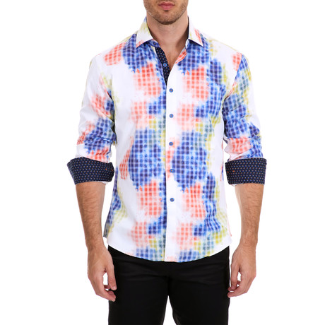 Lutz Long-Sleeve Shirt // Multicolor (XS)