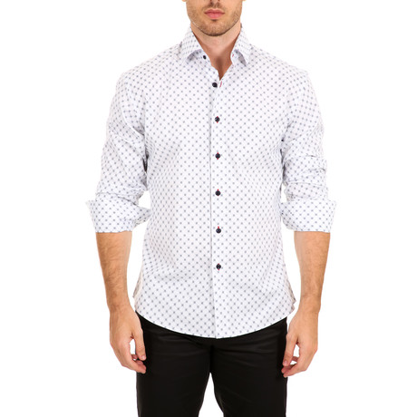 Benson Long-Sleeve Shirt // White (XS)
