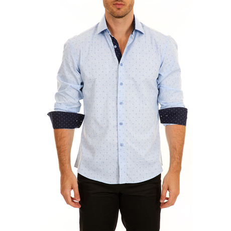 Nielsen Long-Sleeve Button-Up Shirt // Blue (XS)