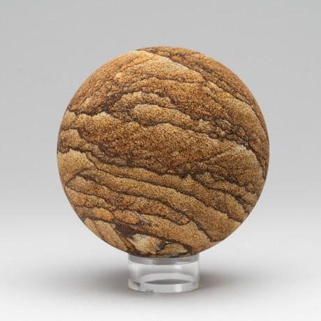 Genuine Sandstone Sphere