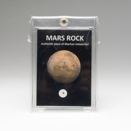 Authentic Piece of Martian meteorite