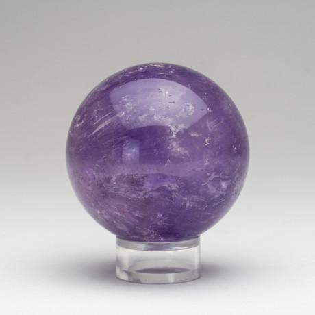 Polished Amethyst Sphere // 0.50lbs