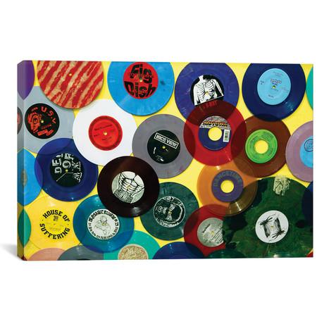 "Vinyl 45's II Amoeba Music Store by Kymri Wilt (26""W x 18""H x 0.75""D)"
