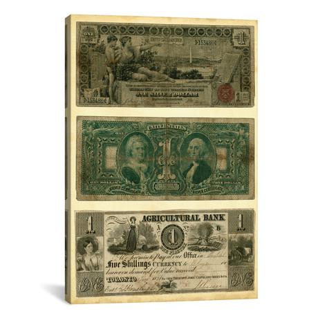 "Antique Currency V // Vision Studio (18""W x 26""H x 0.75""D)"