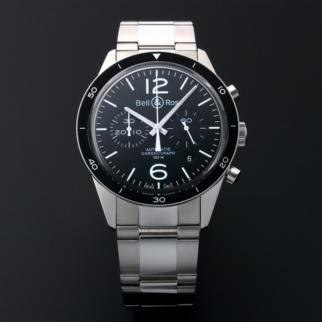 Bell & Ross Chronograph Date Chronograph Automatic // BR126 // Pre-Owned