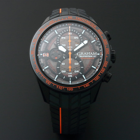 Graham Silverstone RS Chronograph Automatic // 2STCB.B04A // Store Display