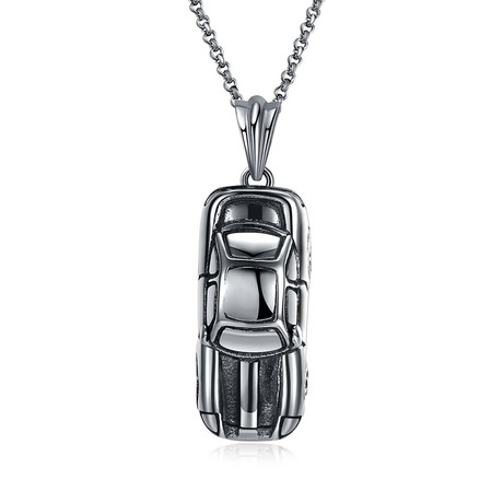 Italian Supercar Pendant Necklace // Stainless Steel