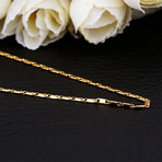 Rolo Chain Necklace // 14K Gold Plated