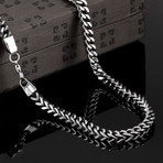 Grapevine Statement Chain Necklace // Stainless Steel