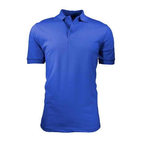 Pique Polo // Royal Blue (S)