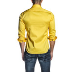 Steve Long Sleeve Shirt // Yellow (S)