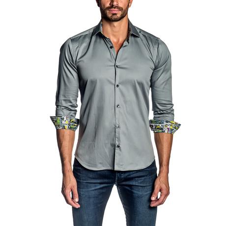 Long-Sleeve Shirt // Gray (S)