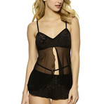 Jessica Cami + Shorty 2 Piece Set // Black (M)