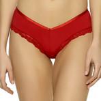 Capri Brazilian // Tango Red (XS)