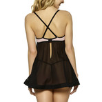 Mary Babydoll // Black (M)