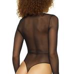 Isa Bodysuit // Black (XL)