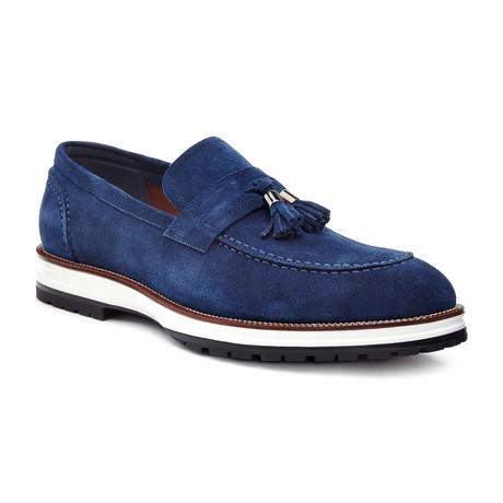Signature Dress Shoe // Navy (US: 7)