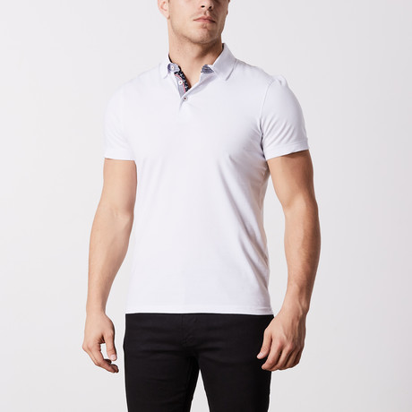 Muir Solid Polo // White (S)