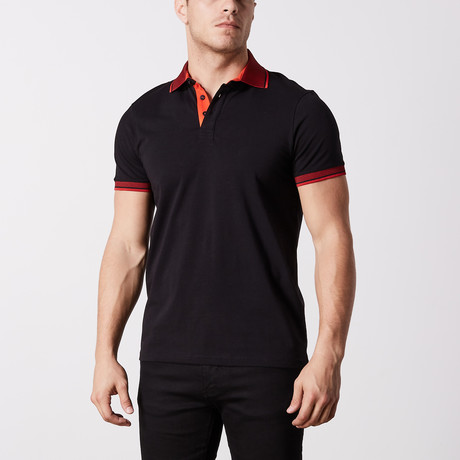 Caspar Polo // Black (S)