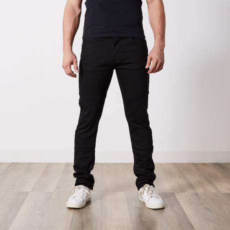 Slim Fit Jeans // Black (29WX34L)