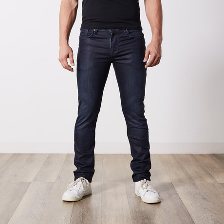 Slim Fit Jeans II // Dark Blue (29WX34L)