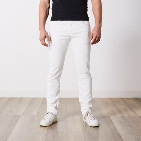 Slim Fit Jeans // White (29WX34L)