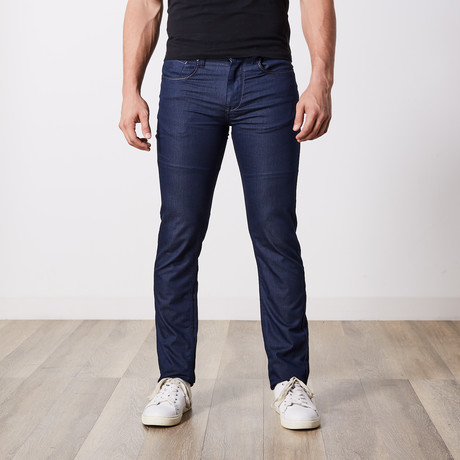 Slim Fit Jeans // Dark Blue (29WX34L)