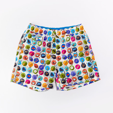 Winfield Print Swimwear // Multicolor (S)
