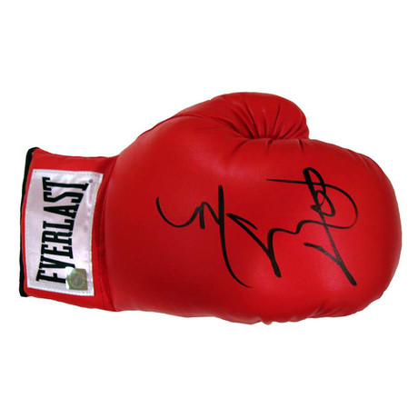 Autographed Everlast Boxing Glove // Miguel Cotto