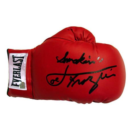 Autographed Everlast Boxing Glove // Smokin' Joe Frazier
