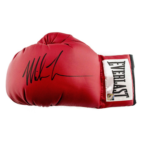 Autographed Everlast Boxing Glove // Mike Tyson