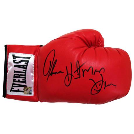 "Autographed Everlast Boxing Glove // Thomas ""Hitman"" Hearns"