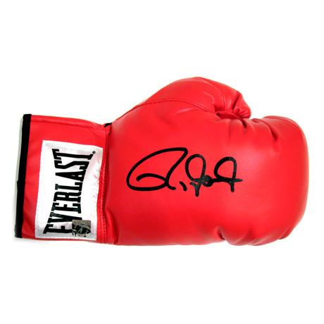 Autographed Everlast Boxing Glove // Roy Jones Jr.