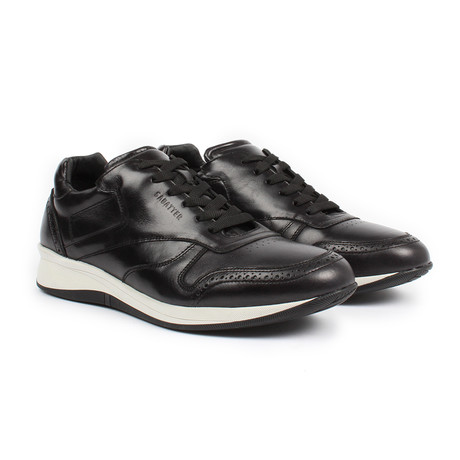 Sabatter // Franchesco Lace-up Sneaker // Black (US: 7)