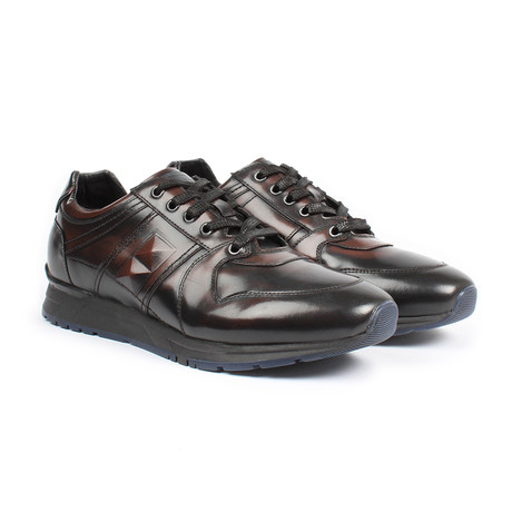 Sabatter // Dress Sneakers // Dark Brown (US: 7)