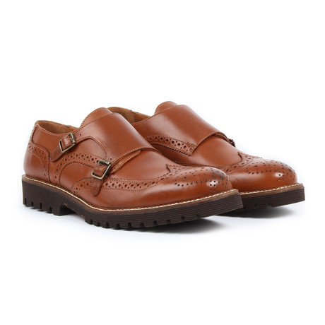 Sabatter // Monkstrap Shoes // Tan (US: 7)