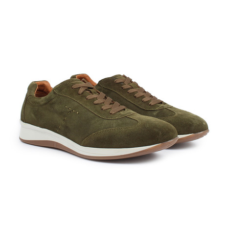 Sabatter // Franchesco Casual Sneakers // Army (US: 7)