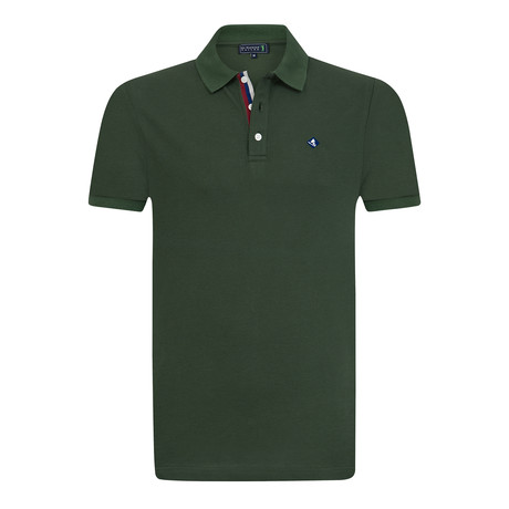 Claw Grip Short Sleeve Polo // Neft Green (XS)