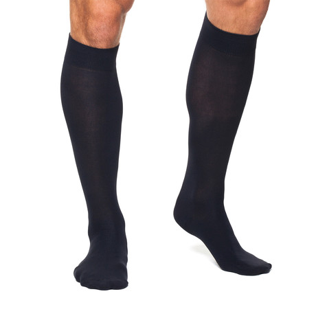 Infrared Knee High 24/7 Socks // Black (XS)