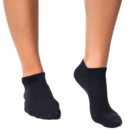 Infrared Trainer 24/7 Socks // Black (XS)