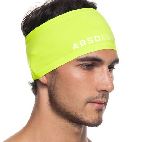 Infrared [AR] Headband // Neon Yellow