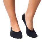 Infrared No-Show 24/7 Socks // Black (XS)
