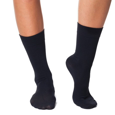 Infrared Ankle High 24/7 Socks // Black (XS)
