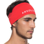 Infrared [AR] Wide Headband // Flame Scarlet
